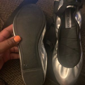 Steve Madden wrap around ballerina shoes